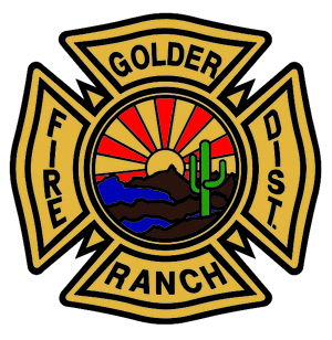 Golder Ranch Fire District Logo